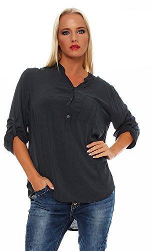 Damen Fischerhemd Baumwolle