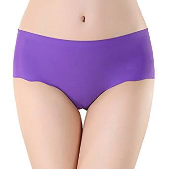 Damen Seiden Panties Lila