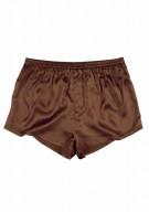 Herren Shorts Seide - braun