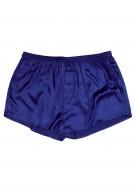 Herren Shorts Seide - marineblau