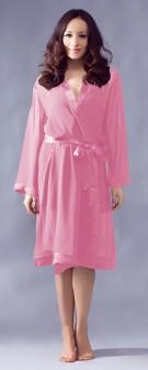 Kimono Seide Damen - pink