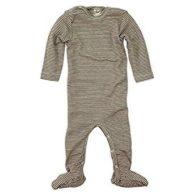 Kinder Seidenpyjama geringelt