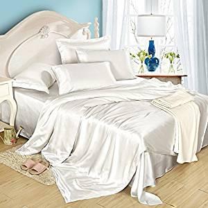 Bettbezug aus Seide im 3er Set