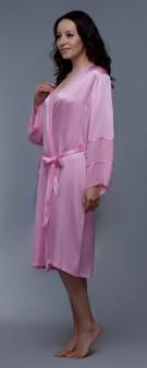 Seidenkimono Damen - pink