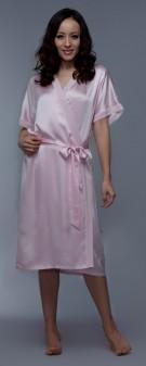Seidenkimono Damen - rosa