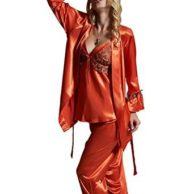 seidenwelt-amybria-damen-pyjama-rost