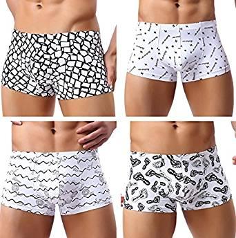 Herren Pants 4er-Pack