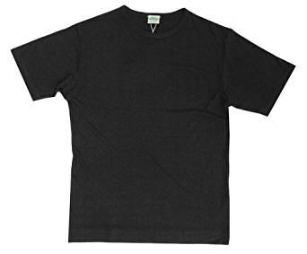 T-Shirt Bouretteseide schwarz